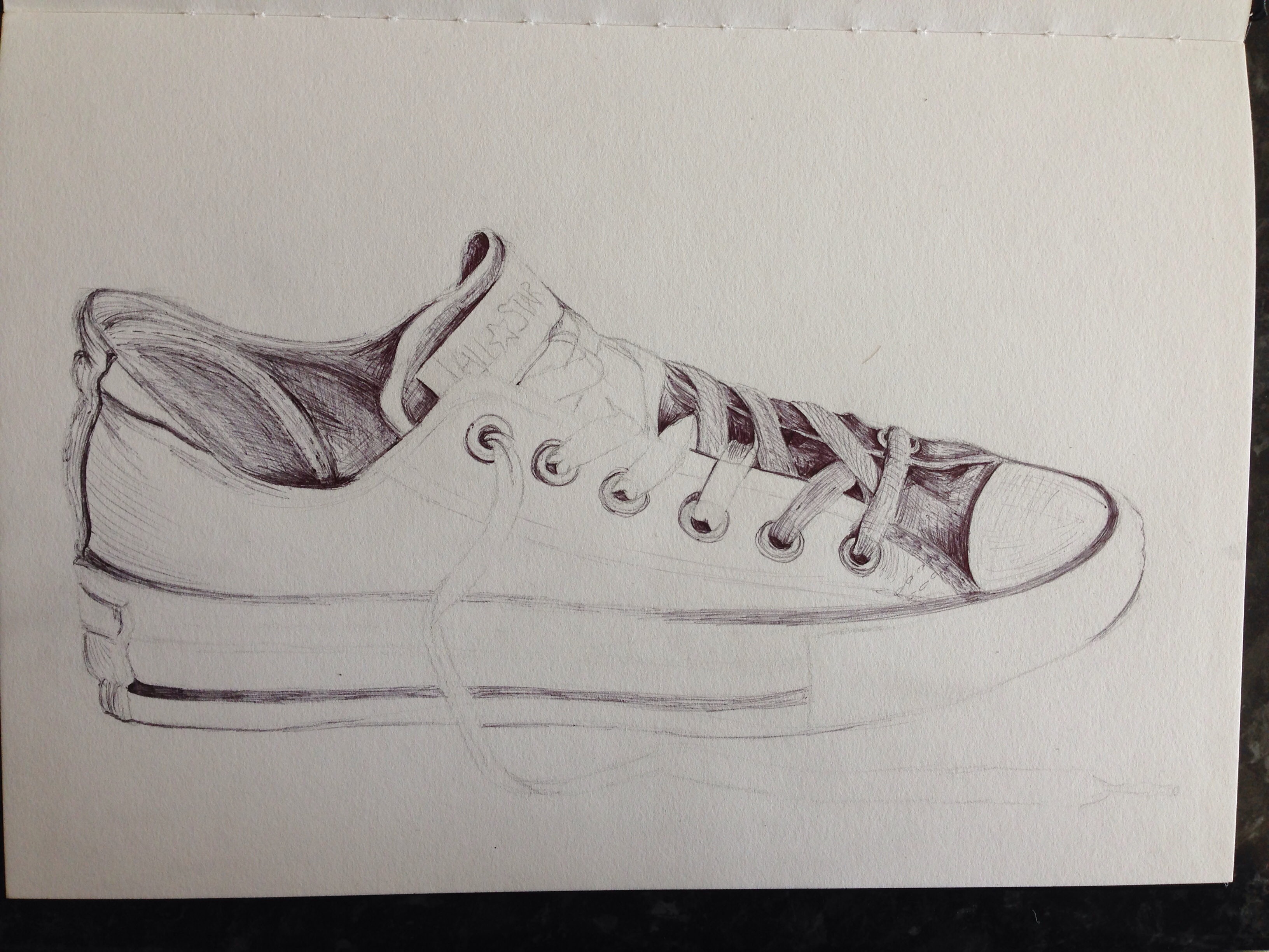 Drawn converse biro Drawings  drawing Drawing and