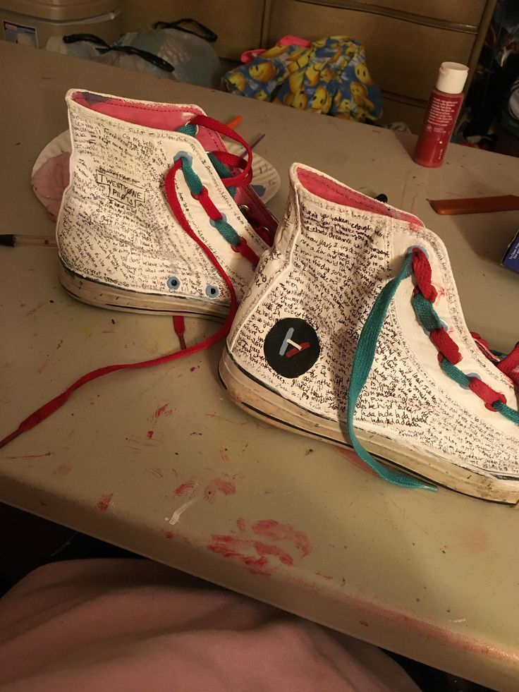 Drawn converse canvas shoe Drawn/painted  399 about One
