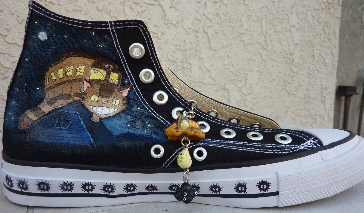 Drawn converse canvas shoe (with Steps 5 Shoes