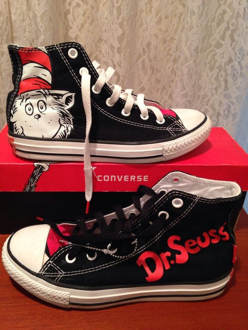 Drawn converse cat in hat The Seuss by and the