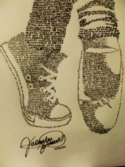 Drawn converse dancer 17 like Converse on images