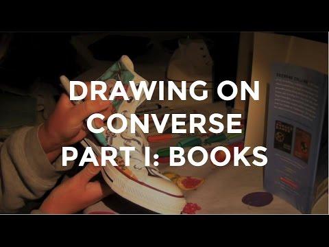 Drawn converse drawing I: Books Converse on Drawing