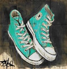 Drawn converse embellished Stars at art the Green