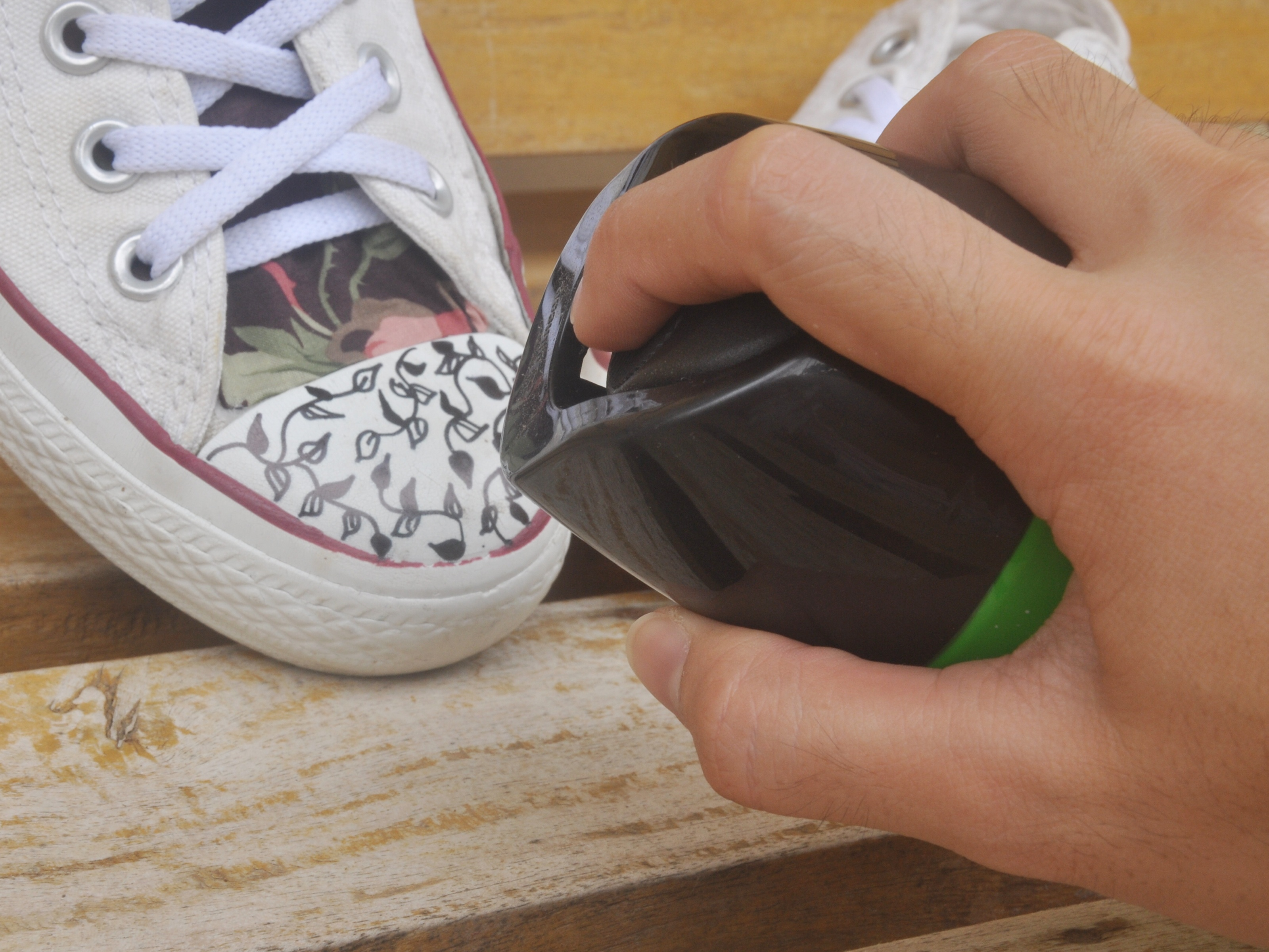 Drawn converse embellished 3 Shoes Decorate wikiHow