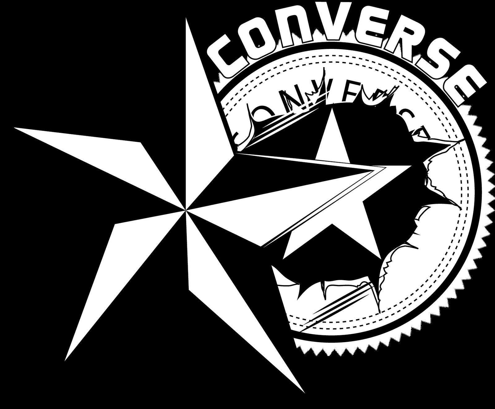 Drawn converse logo Design Drawing free logo Star