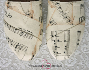 Drawn converse music note Hand Notes TOMS Painted Music