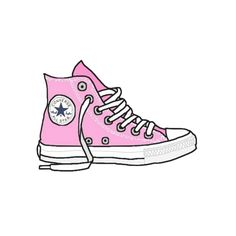 Drawn converse pink What · brandy made the