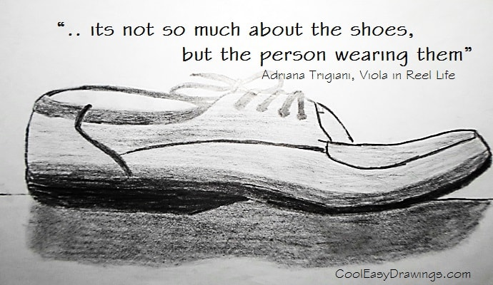 Drawn converse quote This Easy Cool Shoe Today