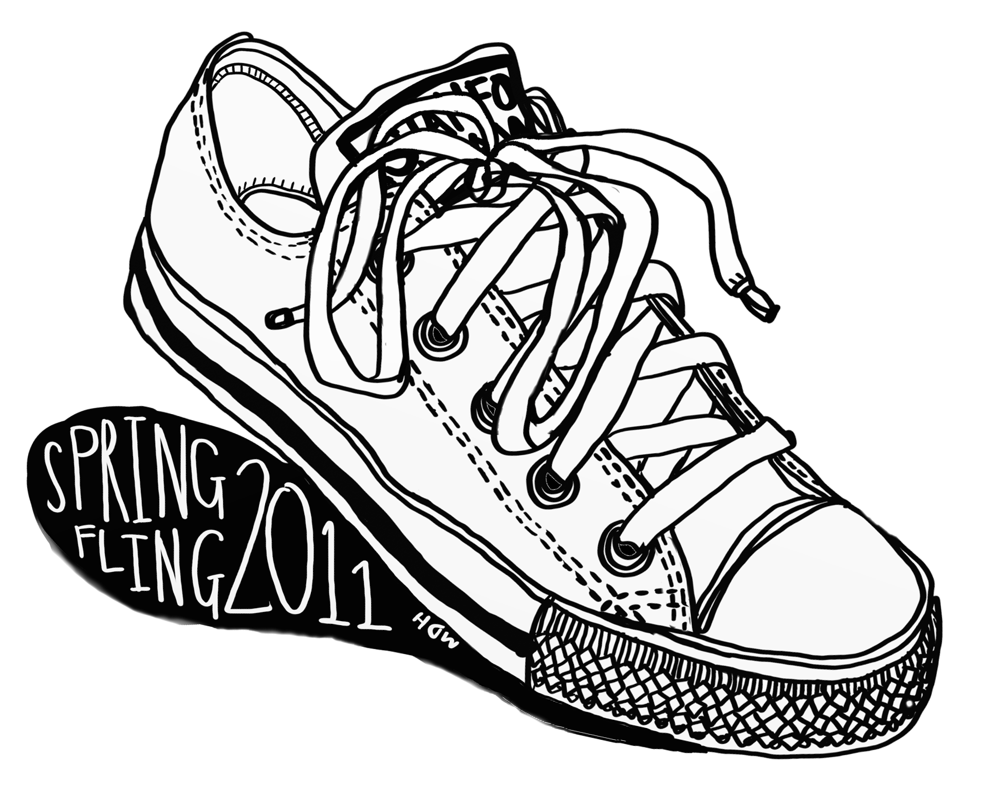 Drawn converse sketch For Sneaker A the t
