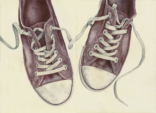 Drawn converse sketch Pin Shoes Find and more