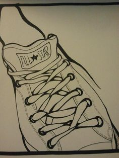 Drawn converse sketch Do of Want Converse Drawings