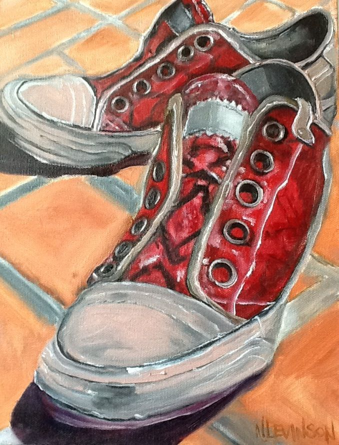 Drawn converse still life Best on images Shoe 80