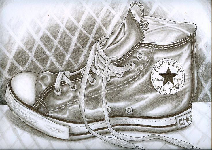 Drawn still life converse Pin best Still and this