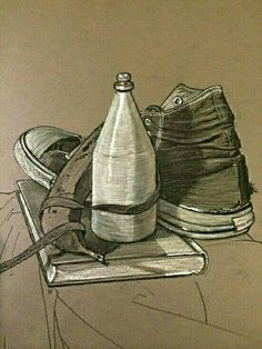 Drawn converse still life To and Project High of