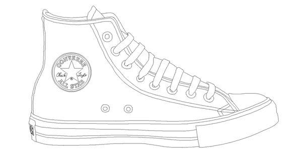 Drawn converse themed On template @deviantART deviantart com