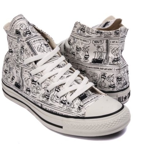 Drawn converse themed C These On Peanuts themed