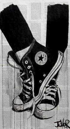 Drawn converse wicked Ink Art Street The Drawing