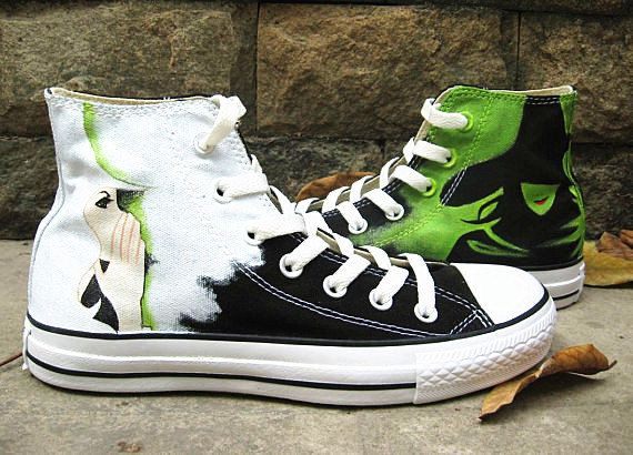 Drawn converse wicked Wicked Converse best Pinterest Canvas