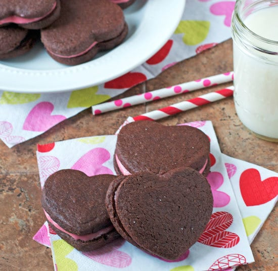 Drawn cookie Cheese Cookies Valentine's Frosting Sandwich