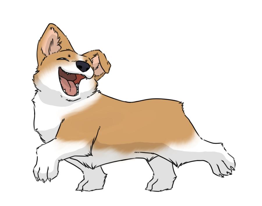 Drawn corgi  Corgi 25+ by dog deviantart