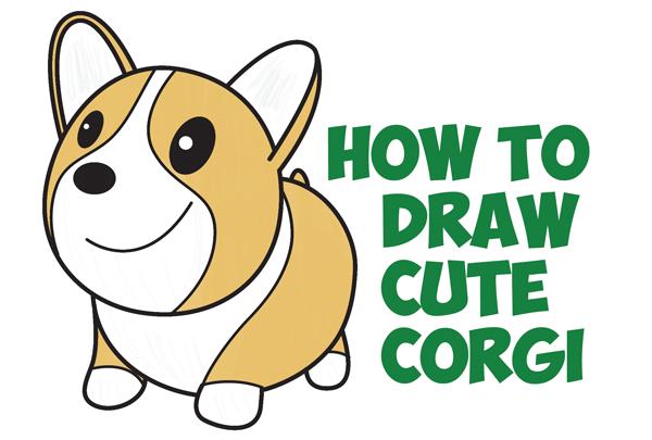 Drawn puppy beginner kid To Easy & / (Cartoon