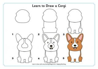 Drawn rabbit family drawing Animals  to Draw Learn