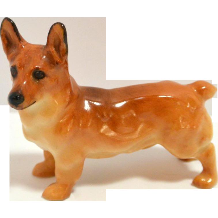 Drawn figurine corgi Dog a from Royal Doulton
