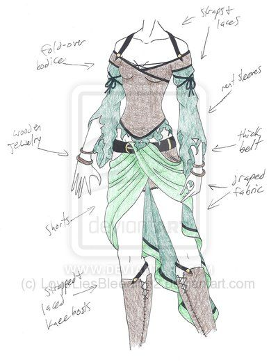 Drawn costume ~LoveLiesBleeding2 ideas drawing Dress Best