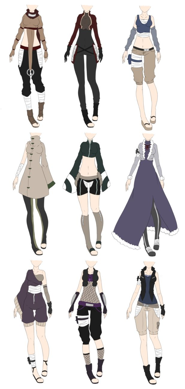 Drawn jeans naruto (closed) Narutoverse Adoptables draw outfits