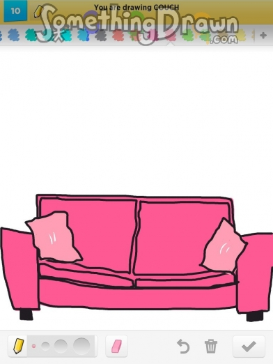 Drawn couch Couch SomethingDrawn com of on