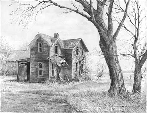 Drawn house abandoned house Drawing Pinterest best by Diane