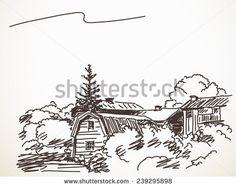 Drawn countyside master Drawn drawn landscape  Hand