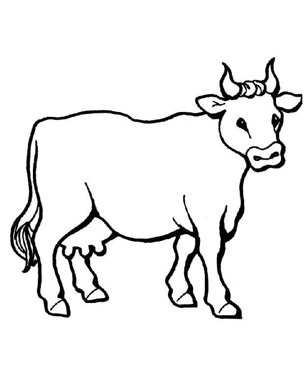 Drawn cow Art Amazing Drawing Cow Images