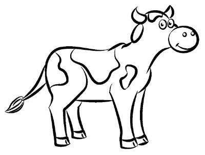 Drawn cow To Draw to Draw Animals