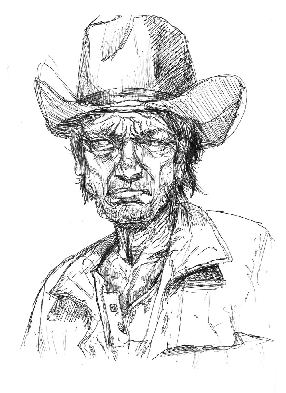 Drawn cowboy Lot the I when looking