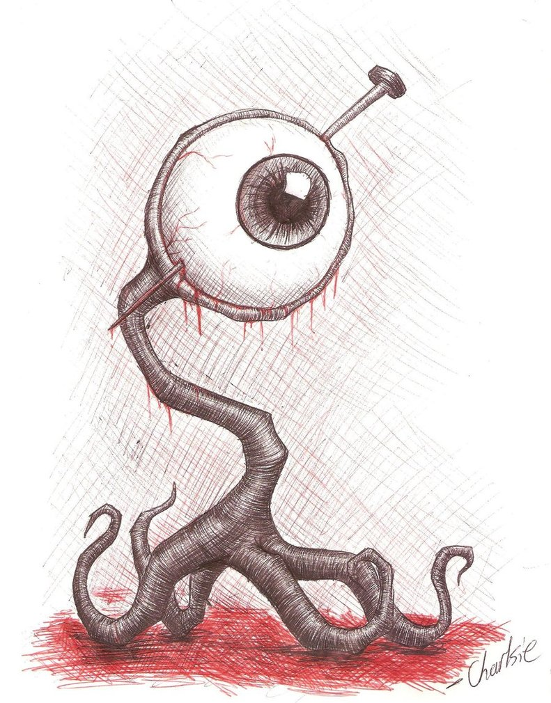 Drawn creature #11