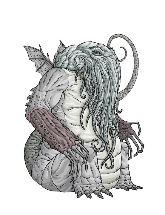 Drawn creature #15