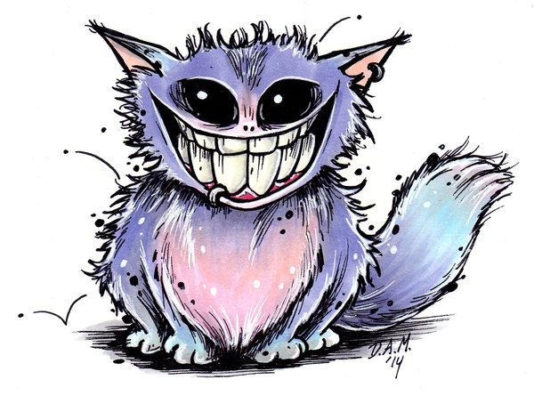 Drawn creature #12
