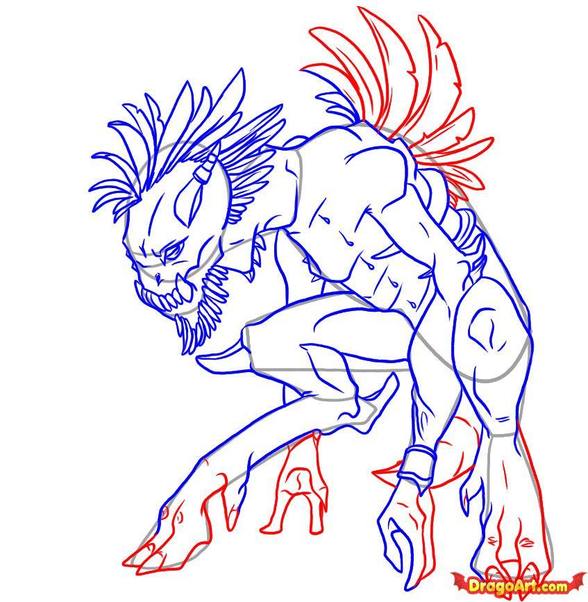 Drawn creature #2