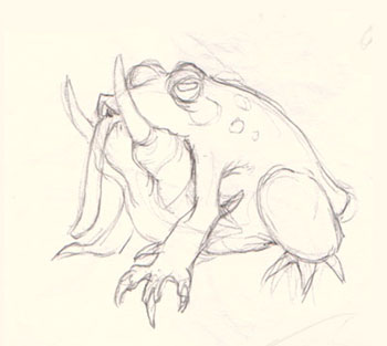 Drawn creature (basic) monster by Creature step:
