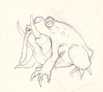 Drawn creature #8