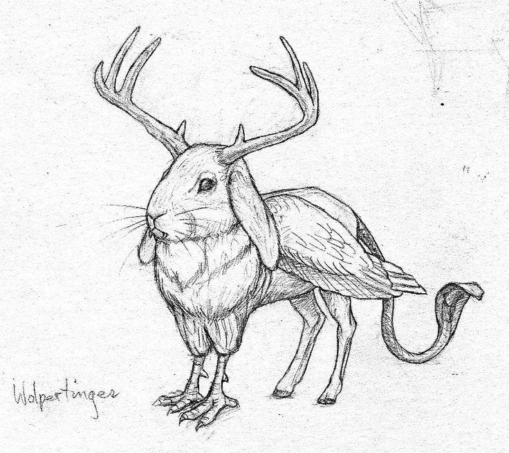 Drawn creature #4