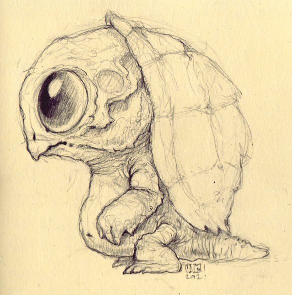 Drawn creature #10