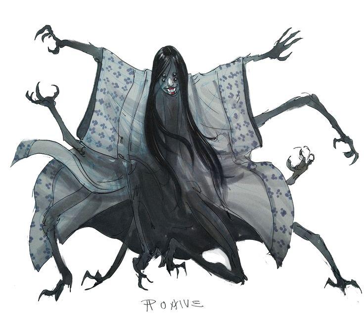 Drawn spider monster Spiders !! Spiders Find Pinterest
