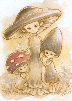 Drawn mushroom character Possess? What would creatures Do