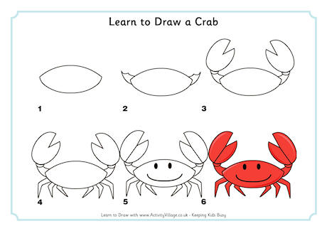 Drawn sea life simple To Learn Sea Draw Draw