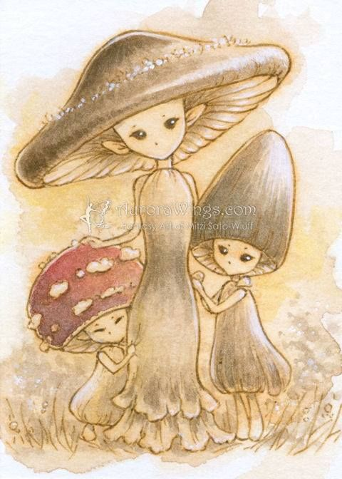 Drawn mushroom As ideas reference creatures I