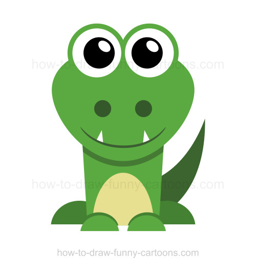 Drawn crocodile How crocodile draw a to