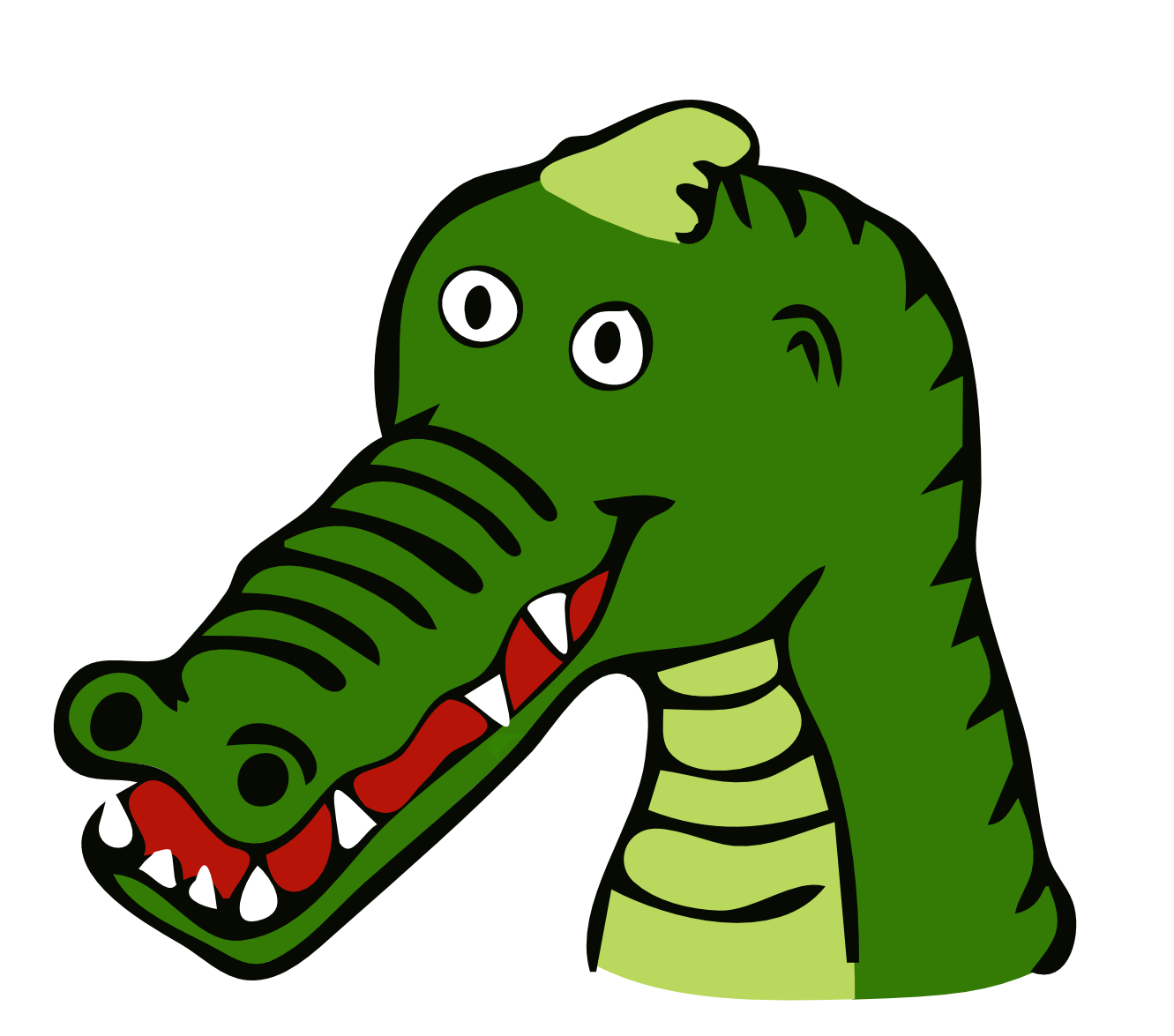 Alligator clipart heart Crocodile clipart clip Crocodile 2
