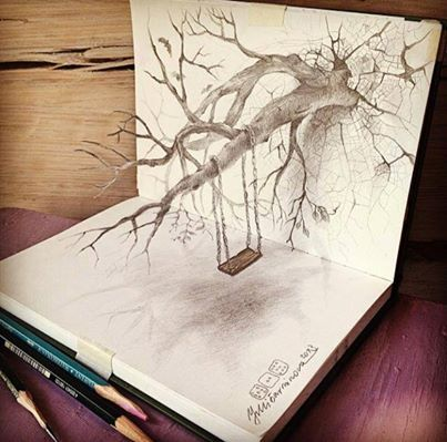 Drawn 3d art vamos Draw best 3D Foto: Barminova